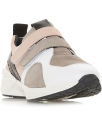 Dune Black - Multicoloured Leather 'eede' Casual Trainers - Lyst
