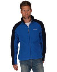 Regatta - Blue/navy Hedman Zip Through Fleece - Lyst