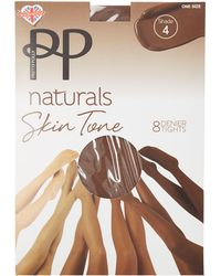 Pretty Polly - Natural 8 Denier 'shade 4' Tights - Lyst