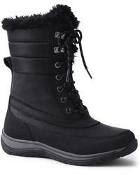 Lands' End - Black Expedition Snow Boots - Lyst