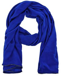 Coast - Cobalt Blue 'janey' Diamante Scarf - Lyst