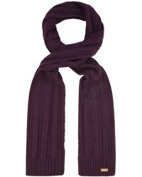 Regatta - Purple 'multimix' Knit Scarf - Lyst