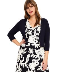 Studio 8 - Sizes 14-26 Navy Carrie Cover Up - Lyst