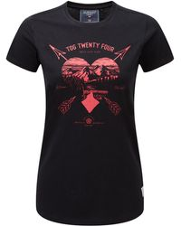 Tog 24 - Black Arrow Heart Nicky Supersoft T-shirt - Lyst