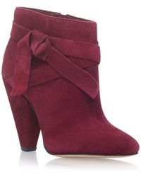 Nine West - Red 'acesso' High Heel Ankle Boots - Lyst