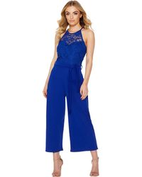 648fc19e101f Oasis Royal Worcester Jumpsuit in Black - Lyst