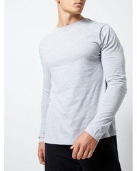 Burton - Grey Long Sleeve Pyjama Set - Lyst