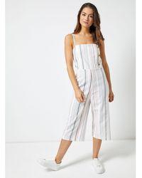 558ecc4f1a Dorothy Perkins - Petite Multi Colour Stripe Jumpsuit - Lyst