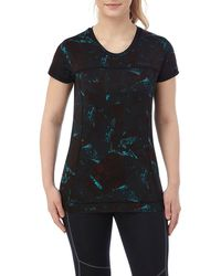 Tog 24 - Black Print Safila Stretch Performance T-shirt - Lyst