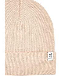 Burton - Cream Lightweight Beanie Hat - Lyst