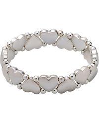 Pilgrim - Sophia Silver Plated Bracelet - Lyst