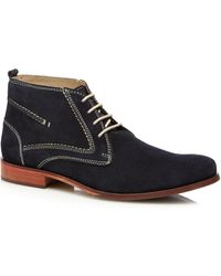 Lotus - Navy Suede 'balfour' Chukka Boots - Lyst