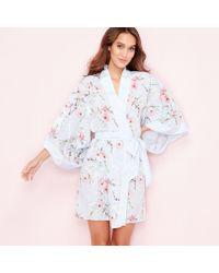 Ted Baker - Blue 'blossom' Print Kimono - Lyst
