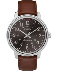 ca97ac62a Ben Sherman Men's Brown Analogue Strap Watch Bs143 in Brown for Men - Lyst