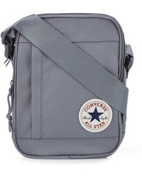 7cbb38ae3c Converse Polka Dot Core Cross Body Bag in Gray for Men - Lyst