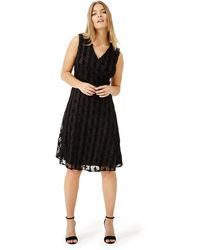 Studio 8 - Sizes 12-26 Black Sirene Dress - Lyst