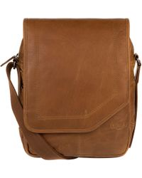 Cultured London - Chestnut 'scene' Buffalo Leather Despatch Bag - Lyst