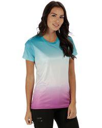 Regatta - Blue 'fingal' Print T-shirt - Lyst