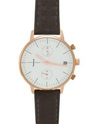 J By Jasper Conran - Ladies' Grey Chronograph Watch - Lyst