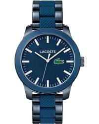 Lacoste - Gents Blue Strap Watch - Lyst