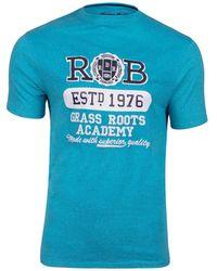 Raging Bull - Blue Academy T-shirt - Lyst