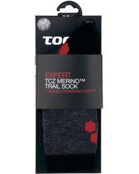 Tog 24 - Black/anth/fire North Point Merino/diamond Dry Socks - Lyst
