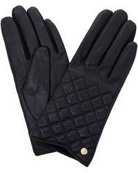 Dune - Navy 'imerelda' Quilted Glove - Lyst