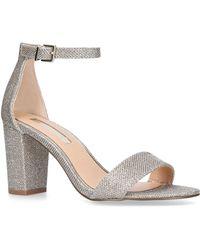 Miss Kg - Metallic 'pearl' High Heel Sandals - Lyst