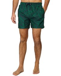 Red Herring - Green Banana Leaf Print Swim Shorts - Lyst