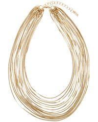 Hobbs - Gold 'gigi' Necklace - Lyst