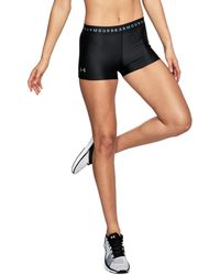 Under Armour - Black 'ua Heatgear® Armour' Shorts - Lyst