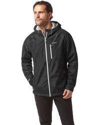 Craghoppers - Black Crawney Waterproof Hooded Jacket - Lyst