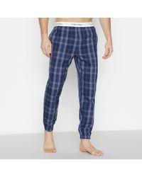 e1b4ecf450d9d Calvin Klein Woven Traditional Stripe Pyjama Pants in Blue for Men - Lyst
