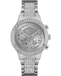 Guess - Ladies Silver Bracelet Watch - Lyst