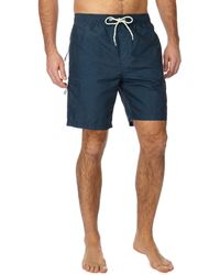 Red Herring - Big And Tall Navy Cargo Swim Shorts - Lyst