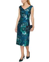 Jacques Vert - Baroque Fleur Print Dress - Lyst