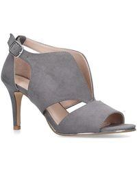3c8e2144d20 Carvela Kurt Geiger - Grey  limbo  Open Toe Sandals - Lyst