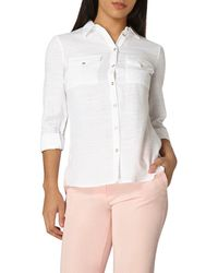 Dorothy Perkins - Ultimate White Summer Shirt - Lyst