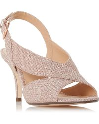 Roland Cartier - Rose 'matilda' Mid Kitten Heel Court Shoes - Lyst