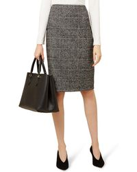 Hobbs - Multicoloured 'lorelai' Pencil Skirt - Lyst