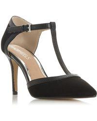 Dune - Black 'carlina' High Stiletto Heel Court Shoes - Lyst