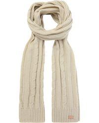 Regatta - Cream 'multimix' Knit Scarf - Lyst