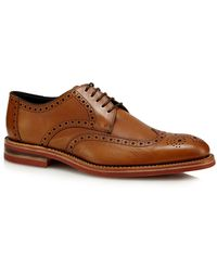 Loake - Tan Leather 'redgrave' Brogues - Lyst