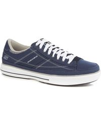 Skechers - Navy Canvas 'arcade Chat' Trainers - Lyst