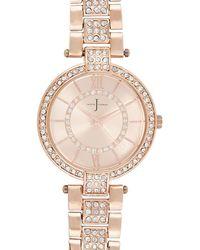 J By Jasper Conran - Womens' Rose Gold Interchangeable Watch - Lyst