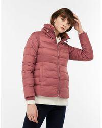 Monsoon - Pink 'vanessa' Puffa Jacket - Lyst