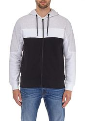 Burton - Frost Grey, White And Black Hoodie - Lyst