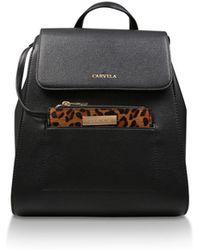 Carvela Kurt Geiger - Black  slinky Backpack With Pk  Backpack With Purse -  Lyst 5f584712cd