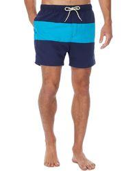 Red Herring - Navy Striped Swim Shorts - Lyst