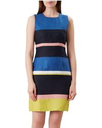 3045b91189a7 Hobbs - Multicoloured 'ives' Shift Dress - Lyst